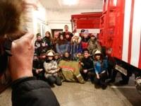 Фотоотчет «Экскурсии в Пожарную часть, посвященных празднованию «Дня спасателя Российской Федерации».